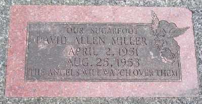 MILLER, DAVID ALLEN - Tillamook County, Oregon | DAVID ALLEN MILLER - Oregon Gravestone Photos