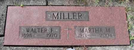 MILLER, MARTHA M - Tillamook County, Oregon | MARTHA M MILLER - Oregon Gravestone Photos