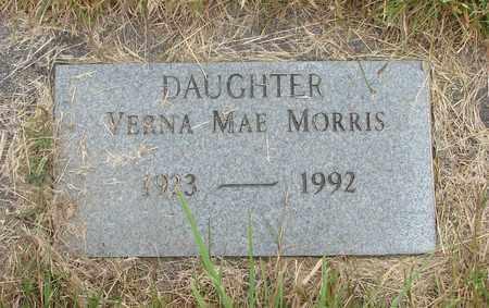 MORRIS, VERNA MAE - Tillamook County, Oregon | VERNA MAE MORRIS - Oregon Gravestone Photos