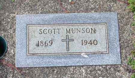MUNSON, SCOTT - Tillamook County, Oregon | SCOTT MUNSON - Oregon Gravestone Photos