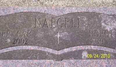 NAEGELI, DOROTHY P - Tillamook County, Oregon | DOROTHY P NAEGELI - Oregon Gravestone Photos