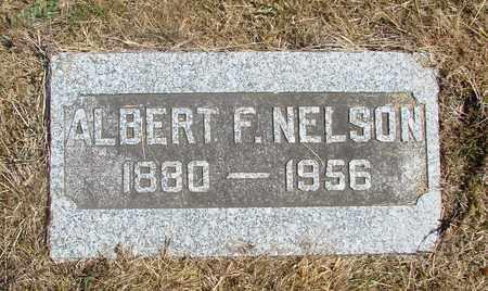 NELSON, ALBERT F - Tillamook County, Oregon   ALBERT F NELSON - Oregon Gravestone Photos