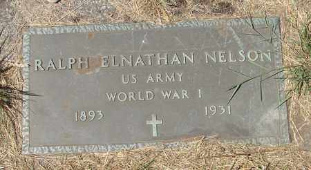 NELSON, RALPH ELNATHAN - Tillamook County, Oregon | RALPH ELNATHAN NELSON - Oregon Gravestone Photos