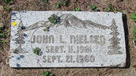 NIELSEN, JOHN L - Tillamook County, Oregon   JOHN L NIELSEN - Oregon Gravestone Photos