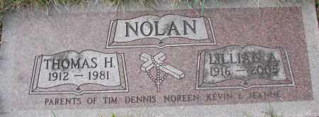 NOLAN, LILLIAN A - Tillamook County, Oregon | LILLIAN A NOLAN - Oregon Gravestone Photos