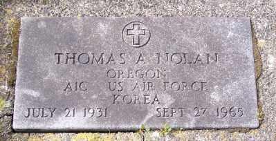 NOLAN, THOMAS A - Tillamook County, Oregon | THOMAS A NOLAN - Oregon Gravestone Photos