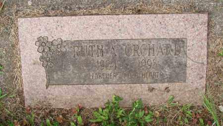 ORCHARD, RUTH A - Tillamook County, Oregon | RUTH A ORCHARD - Oregon Gravestone Photos