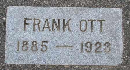OTT, FRANK - Tillamook County, Oregon | FRANK OTT - Oregon Gravestone Photos