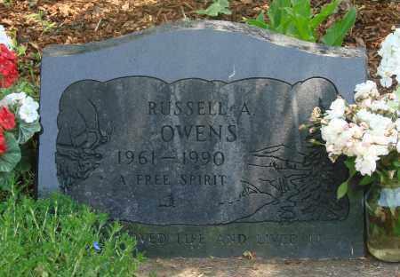 OWENS, RUSSELL ALLAN - Tillamook County, Oregon   RUSSELL ALLAN OWENS - Oregon Gravestone Photos