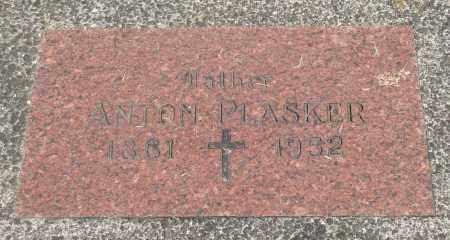 PLASKER, ANTON - Tillamook County, Oregon | ANTON PLASKER - Oregon Gravestone Photos