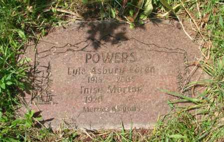 POWERS, LYLE ASBURY LOREN - Tillamook County, Oregon | LYLE ASBURY LOREN POWERS - Oregon Gravestone Photos