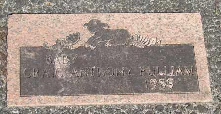 PULLIAM, CRAIG ANTHONY - Tillamook County, Oregon   CRAIG ANTHONY PULLIAM - Oregon Gravestone Photos
