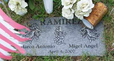 RAMIREZ, MIGEL ANGEL - Tillamook County, Oregon | MIGEL ANGEL RAMIREZ - Oregon Gravestone Photos