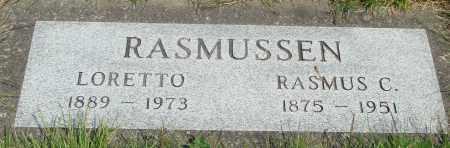 RASMUSSEN, RASMUS C - Tillamook County, Oregon   RASMUS C RASMUSSEN - Oregon Gravestone Photos