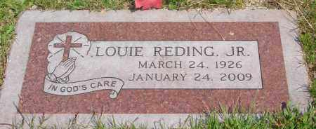 REDING, LOUIE JR - Tillamook County, Oregon | LOUIE JR REDING - Oregon Gravestone Photos