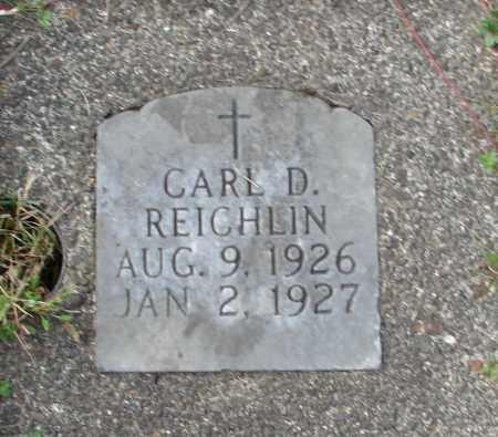 REICHLIN, CARL D - Tillamook County, Oregon | CARL D REICHLIN - Oregon Gravestone Photos