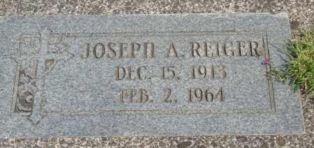 REIGER, JOSEPH A - Tillamook County, Oregon   JOSEPH A REIGER - Oregon Gravestone Photos