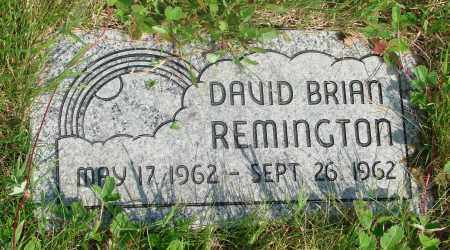 REMINGTON, DAVID BRIAN - Tillamook County, Oregon | DAVID BRIAN REMINGTON - Oregon Gravestone Photos
