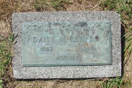 RENFRO, DAISY M - Tillamook County, Oregon | DAISY M RENFRO - Oregon Gravestone Photos