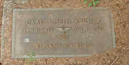 REUSSER (SERV), CARL JOSEPH - Tillamook County, Oregon   CARL JOSEPH REUSSER (SERV) - Oregon Gravestone Photos