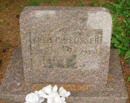 REUSSER, FRED C - Tillamook County, Oregon | FRED C REUSSER - Oregon Gravestone Photos