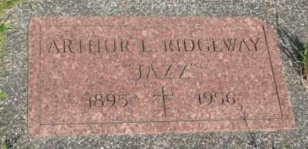 RIDGEWAY, ARTHUR L - Tillamook County, Oregon | ARTHUR L RIDGEWAY - Oregon Gravestone Photos