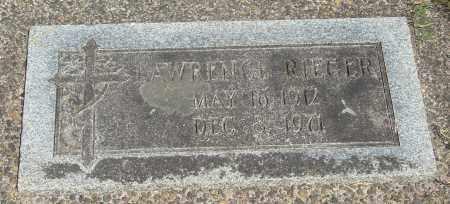 RIEGER, LAWRENCE - Tillamook County, Oregon | LAWRENCE RIEGER - Oregon Gravestone Photos