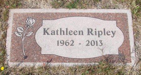 RIPLEY, KATHLEEN - Tillamook County, Oregon   KATHLEEN RIPLEY - Oregon Gravestone Photos