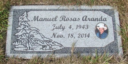 ROSAS ARANDA, MANUEL - Tillamook County, Oregon | MANUEL ROSAS ARANDA - Oregon Gravestone Photos
