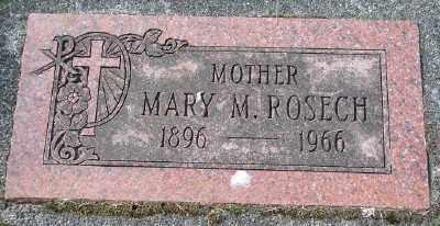 ROSECH, MARY M - Tillamook County, Oregon   MARY M ROSECH - Oregon Gravestone Photos