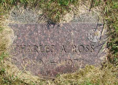 ROSS, CHARLES A - Tillamook County, Oregon   CHARLES A ROSS - Oregon Gravestone Photos