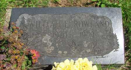 ROWLAND (WWII), WILLIAM E - Tillamook County, Oregon | WILLIAM E ROWLAND (WWII) - Oregon Gravestone Photos