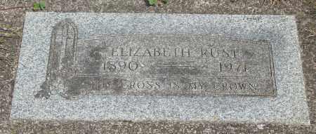RUST, ELIZABETH - Tillamook County, Oregon | ELIZABETH RUST - Oregon Gravestone Photos