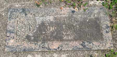 SALWAY, JOHN - Tillamook County, Oregon | JOHN SALWAY - Oregon Gravestone Photos