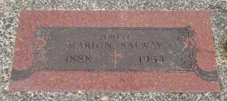 SALWAY, MARION - Tillamook County, Oregon   MARION SALWAY - Oregon Gravestone Photos