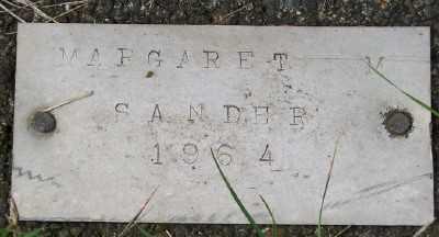 SANDER, MARGARET - Tillamook County, Oregon   MARGARET SANDER - Oregon Gravestone Photos