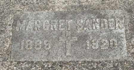 SANDER, MARGRET - Tillamook County, Oregon | MARGRET SANDER - Oregon Gravestone Photos