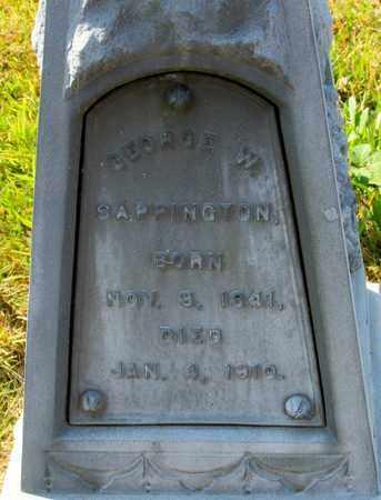 SAPPINGTON, GEORGE W - Tillamook County, Oregon | GEORGE W SAPPINGTON - Oregon Gravestone Photos