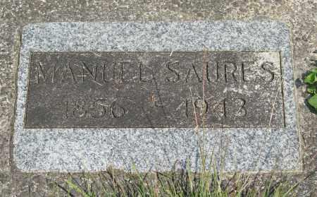 SAURES, MANUEL - Tillamook County, Oregon   MANUEL SAURES - Oregon Gravestone Photos