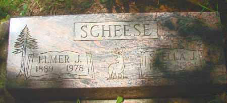SCHEESE, ELMER J - Tillamook County, Oregon | ELMER J SCHEESE - Oregon Gravestone Photos