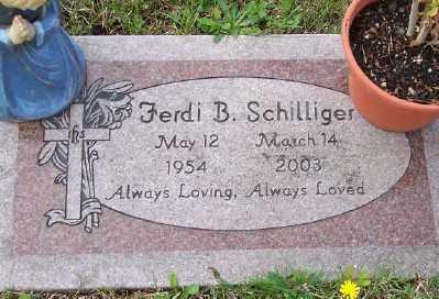 SCHILLIGER, FERDI B - Tillamook County, Oregon | FERDI B SCHILLIGER - Oregon Gravestone Photos