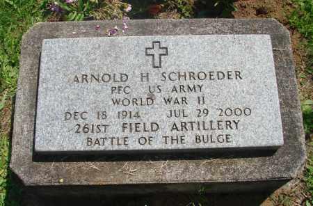 SCHROEDER, ARNOLD H - Tillamook County, Oregon | ARNOLD H SCHROEDER - Oregon Gravestone Photos