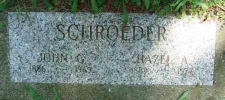 SCHROEDER, HAZEL A - Tillamook County, Oregon | HAZEL A SCHROEDER - Oregon Gravestone Photos
