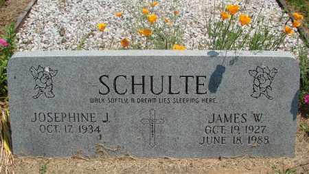 SCHULTE (WWII), JAMES W - Tillamook County, Oregon | JAMES W SCHULTE (WWII) - Oregon Gravestone Photos