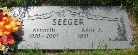 SEEGER, KENNETH - Tillamook County, Oregon | KENNETH SEEGER - Oregon Gravestone Photos