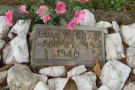 SHAW, DONNA - Tillamook County, Oregon | DONNA SHAW - Oregon Gravestone Photos