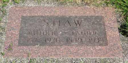 SHAW, FATHER - Tillamook County, Oregon | FATHER SHAW - Oregon Gravestone Photos