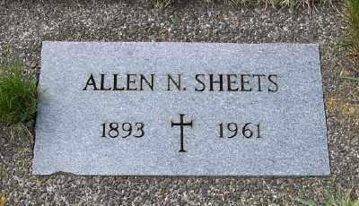 SHEETS, ALLEN N - Tillamook County, Oregon | ALLEN N SHEETS - Oregon Gravestone Photos