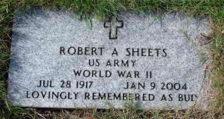 SHEETS, ROBERT A - Tillamook County, Oregon | ROBERT A SHEETS - Oregon Gravestone Photos