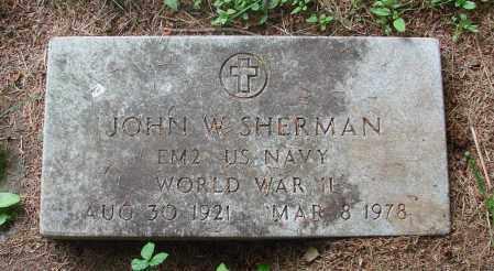 SHERMAN (WWII), JOHN W - Tillamook County, Oregon | JOHN W SHERMAN (WWII) - Oregon Gravestone Photos